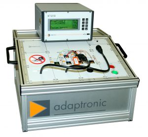 Adaptronic test equipment