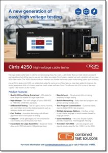 Cirris 4250 brochure download
