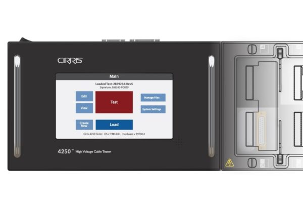 Cirris 4250 high Voltage cable harness tester